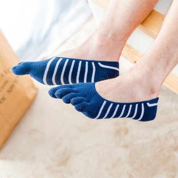 Thin Strip Navy Blue