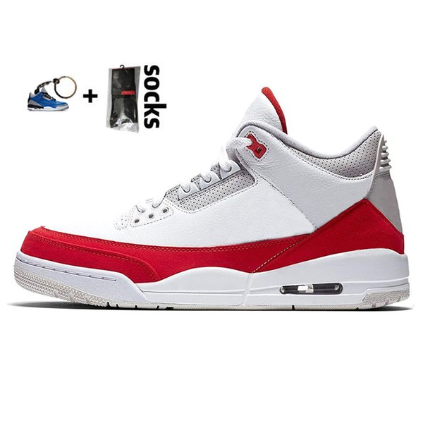 9 Tinker White University Red
