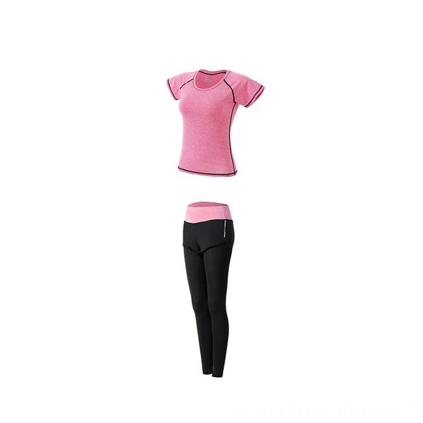 Pink Two-piece Set (t-shirt Trousers)