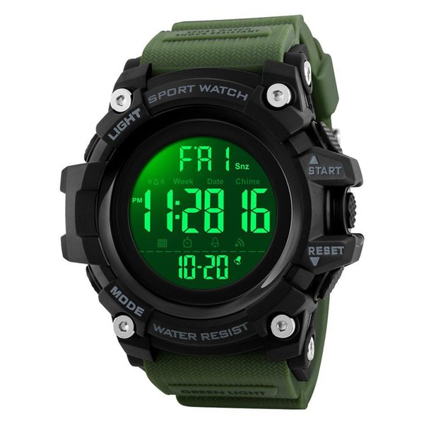 Verde del ejército del reloj