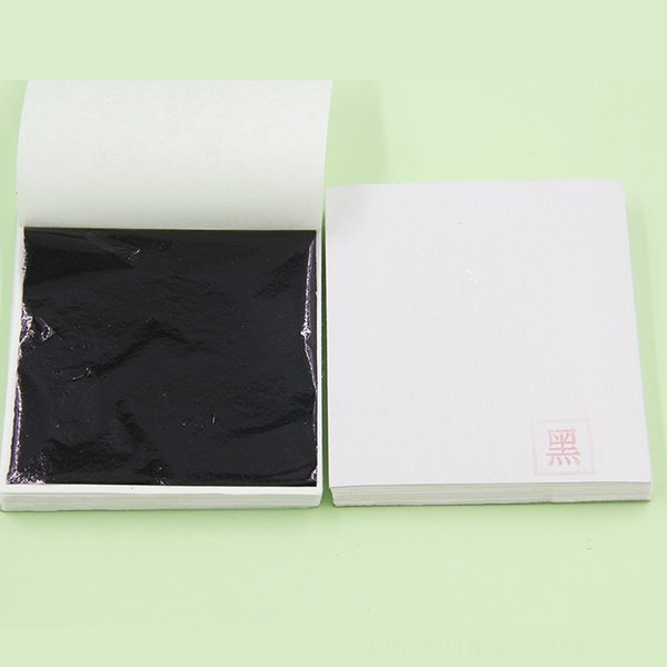 Black 9 X9cm-100 Sheetsxset
