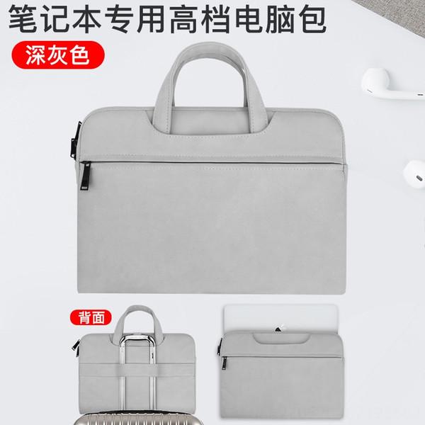 Neue Upgrade-★ bereift Handtasche Licht Gray-
