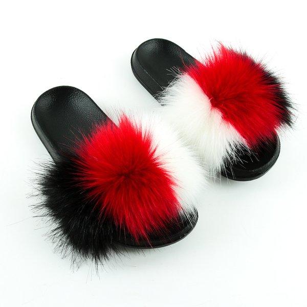 Blanco + rojo grande + Negro