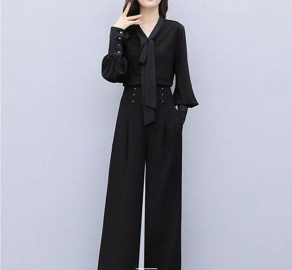 Pantaloni neri singolo
