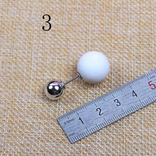 No. 3 Blanc Longs 3,7 Big Perles 1.6 Petit