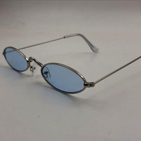 C7 Silver Frame Blue Film