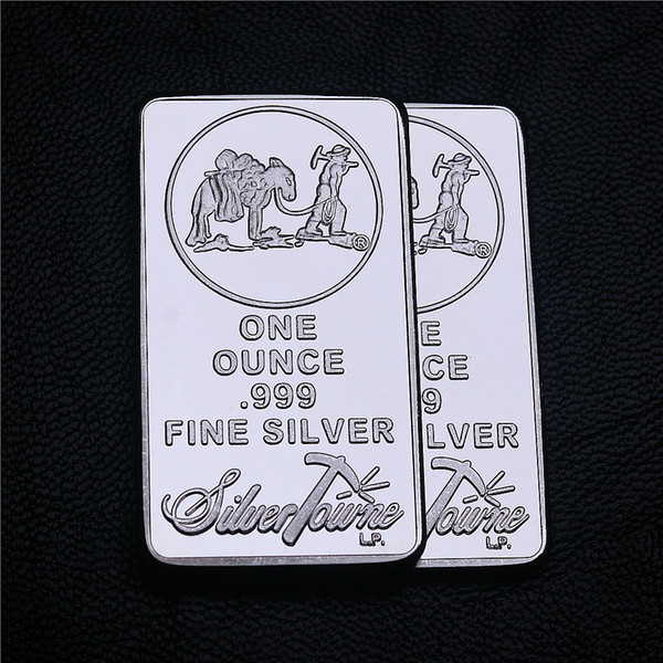 best selling 1 oz Towne Mint Silver Bar American Prospector US Union Metal Coin Collectible Value