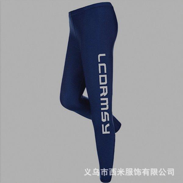 Lc-k509 Navy Blue Letter брюки для мужчин