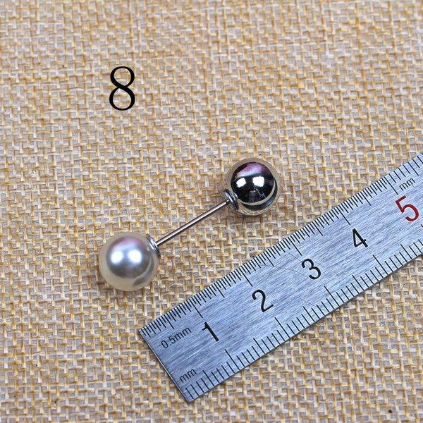 No. 8 blanc long 3.4 Big Perle de Whit