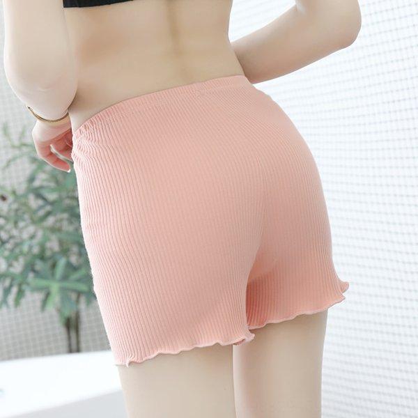 Pantalones de algodón rosa