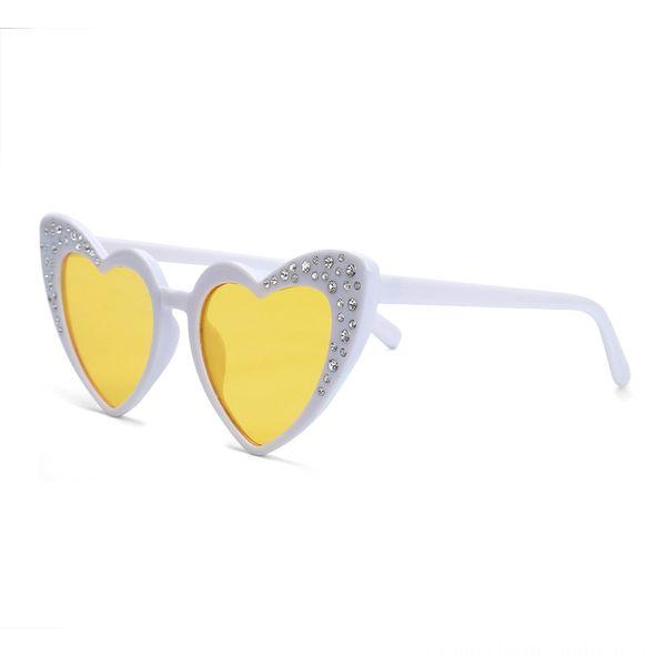 White Frame Transparent Yellow Slice