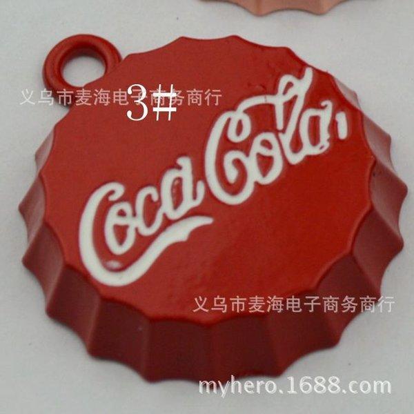 3 # Red (100) 25mm -Gran Cola Bottle Cap