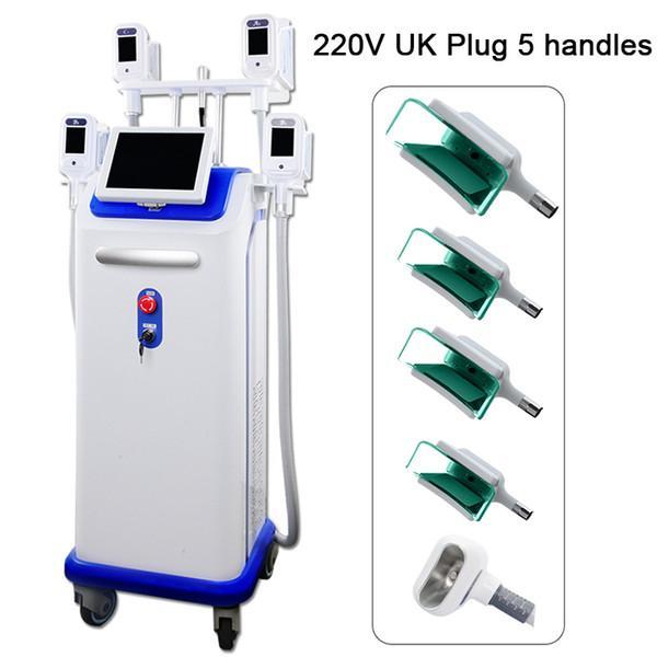 220V UK Plug 5 alças