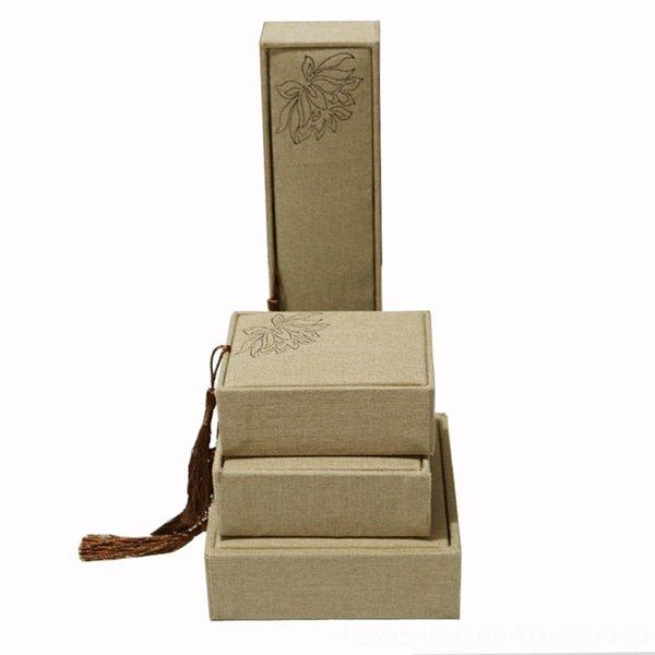 Linho Lotus Tassel-7.5x10 Locket