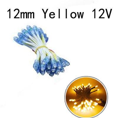 12mm giallo 12V