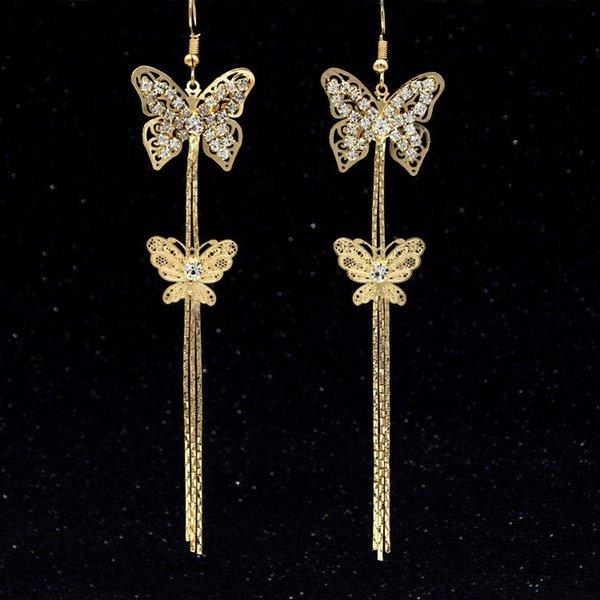 Hohle-heraus Schmetterlings-Gold-