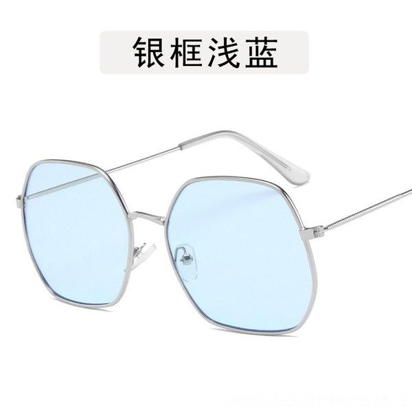 Silver Frame Light Blue