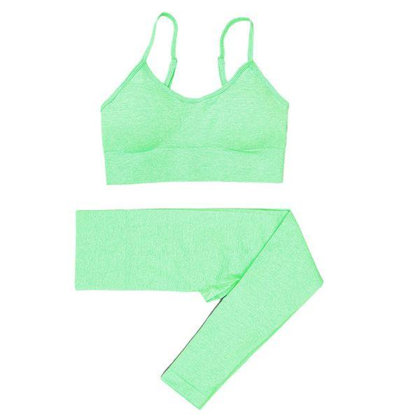 Green Bra Leggings