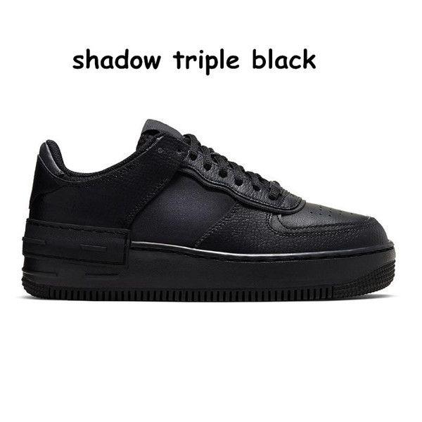 6 Shadow Triple Black 36-45