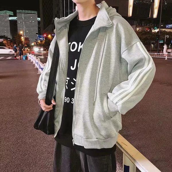 3-бар пальто Серый