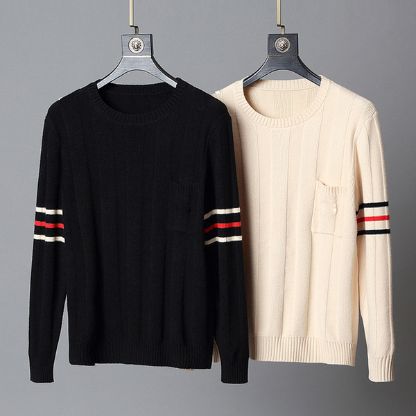 best selling Designer sweaters Mens Long Sleeve fashion Brand Top Autumn Spring man luxury clothing letter embroidery pullover Sweater Coat jumper M-3XL