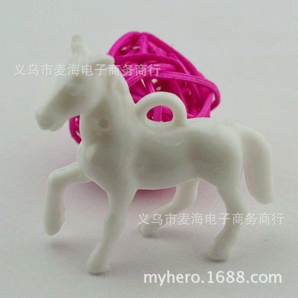 5 # White-40 x 46 mm Pony