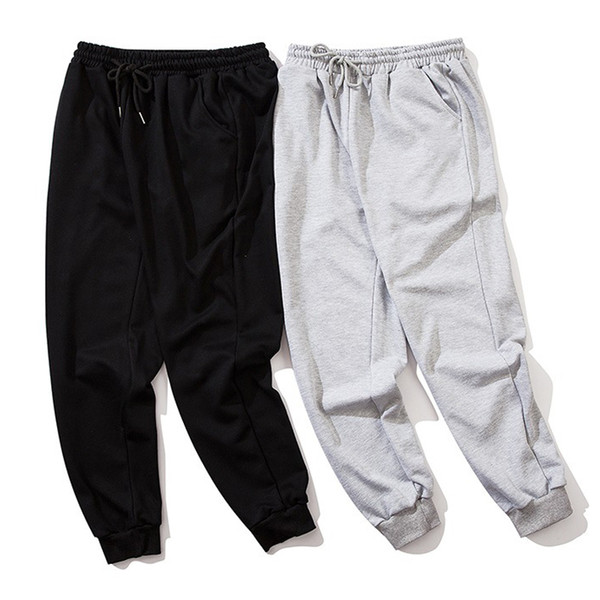 top popular mens sweatpants joggers Japanese style pants classic embroidered mens and womes high street hip-hop sports Leggings 2020