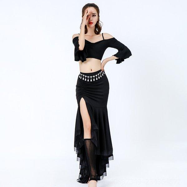 Черная юбка Длина 105см (без ног