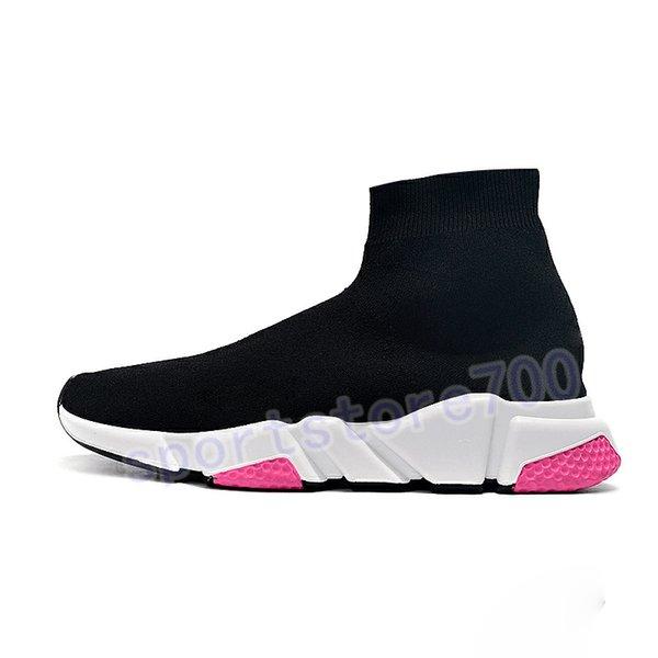 21. black white pink