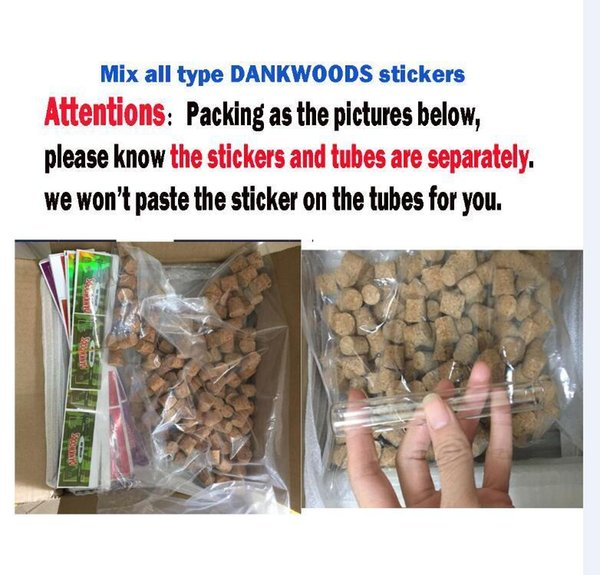 Dankwoods 스티커 (9 flavors)
