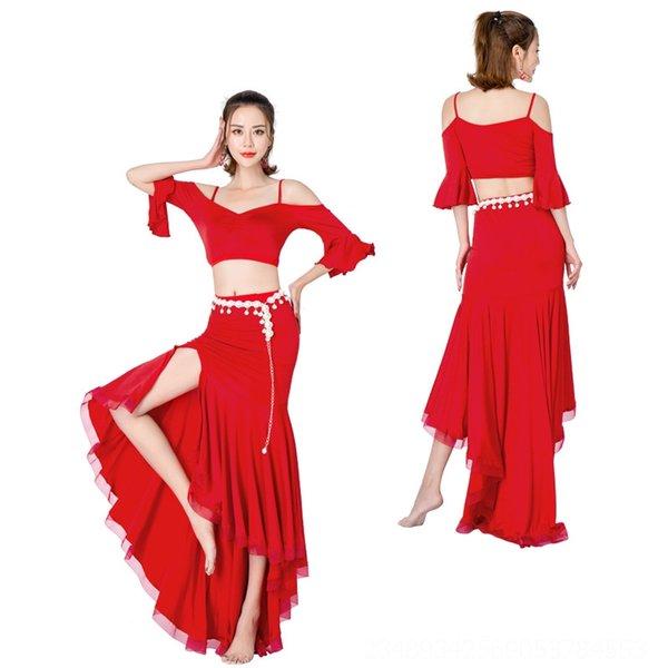 Красная юбка Длина 105см (за исключением ног C