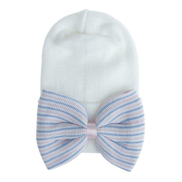 # 7 Blau Rosa Weiß Weiß Hut