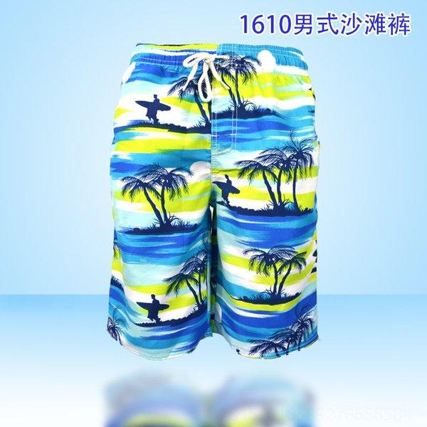 K1610 pantalones de la playa de los hombres