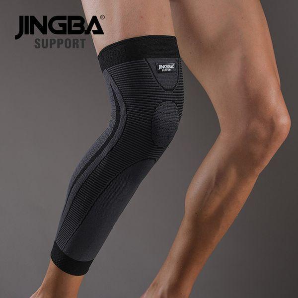 Long black knee pads