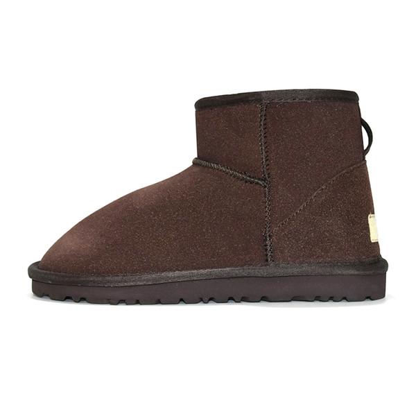 3 mini bota clásica - marrón