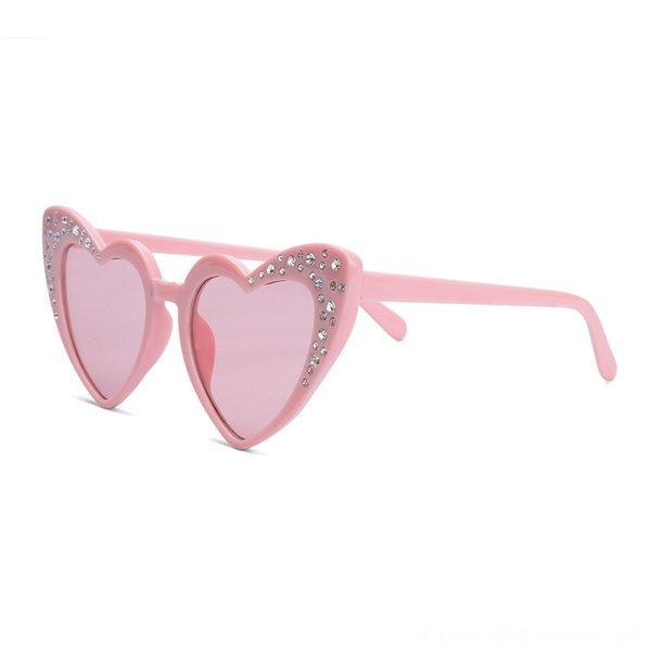 Pink Frame Transparent Powder Slice