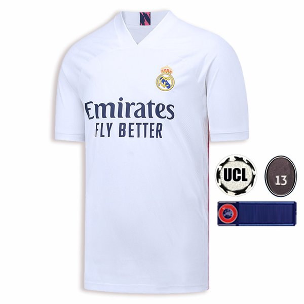 2020 Real Madrid Home con UCL