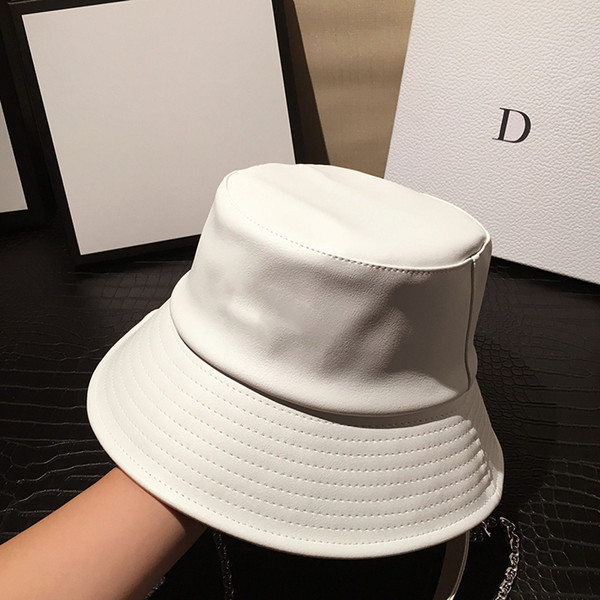 top popular Womens Bucket Hat Outdoor Dress Hats Wide Fedora Sunscreen Cotton Fishing Hunting Cap Men Basin Chapeau Sun Prevent Hats 2021