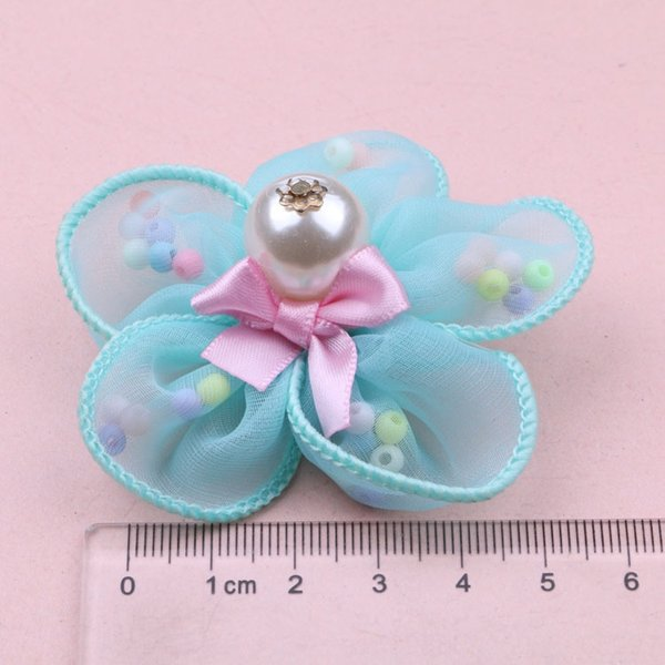 Cyan Colored Beads F4-6