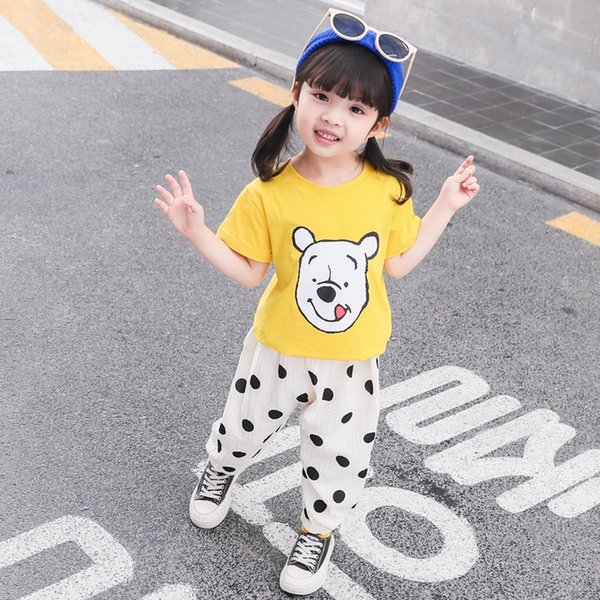 Ab Anti-mosquito Pants Bear + Yellow (to