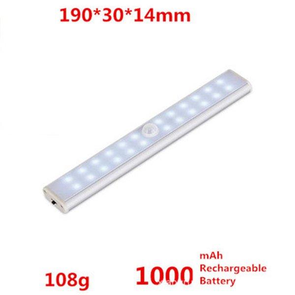 24 LED Şarj edilebilir Soğuk beyaz