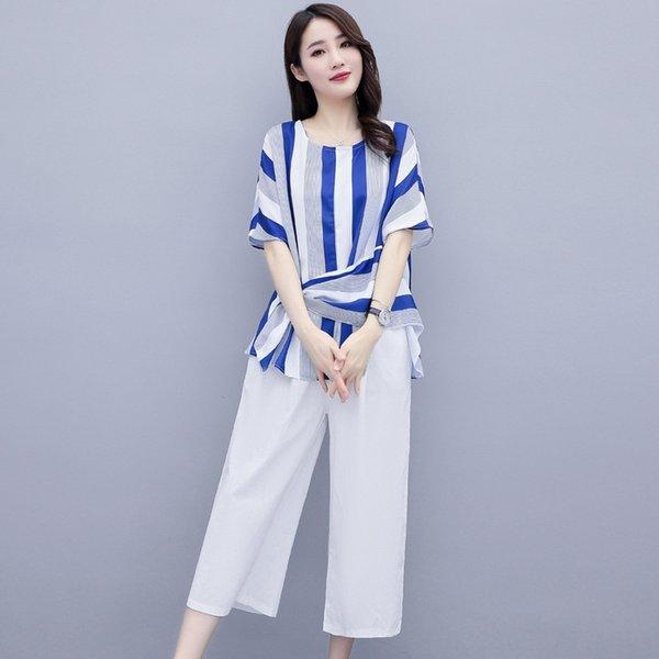 Rayas blancas + Pantalones blancos