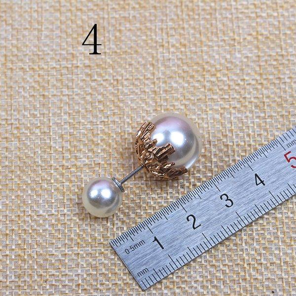 No. 4 Blanc Longueur 4.0 Big Perles 1.6 Sma