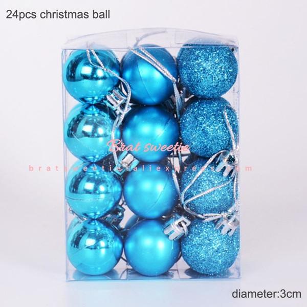 3cm Lakeblue Balls