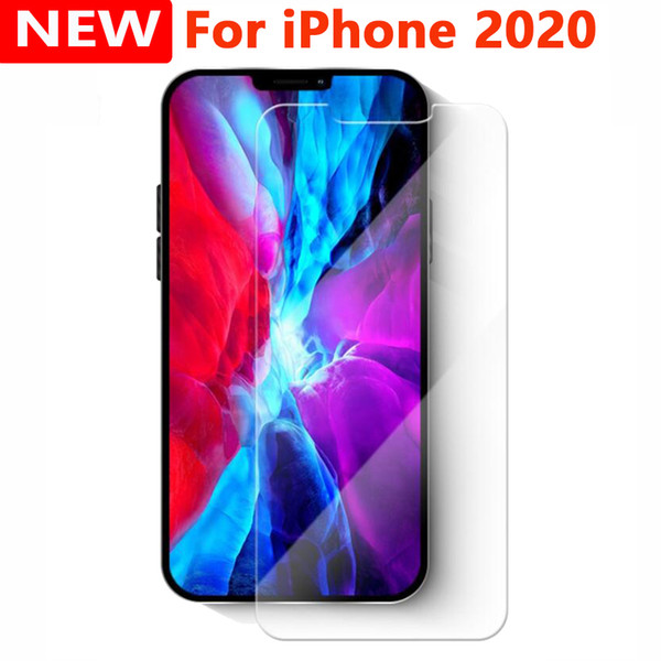 best selling 2.5D Tempered Glass Phone Screen Protector For iPhone 12 11 PRO Max XS X XR 7 8 Plus Samsung A01 CORE A11 A21 A21S A31 A41 A51 A71 A81 A91
