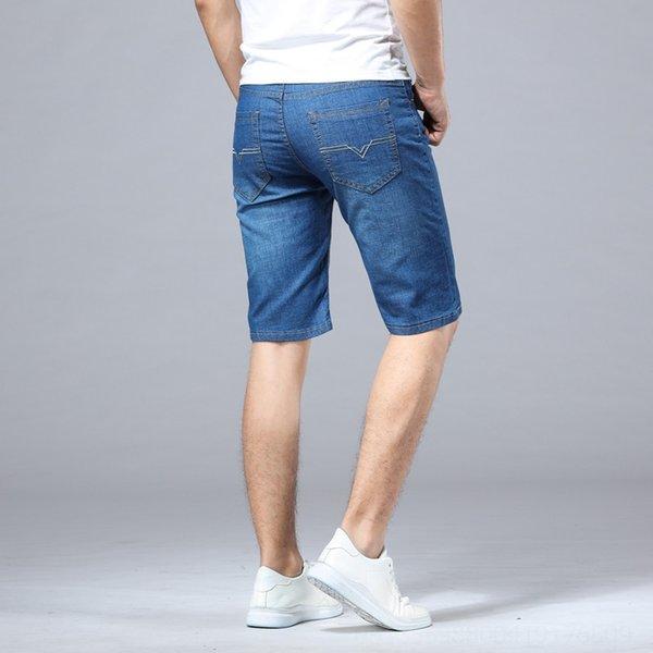 009 Pantalon moyen Bleu clair