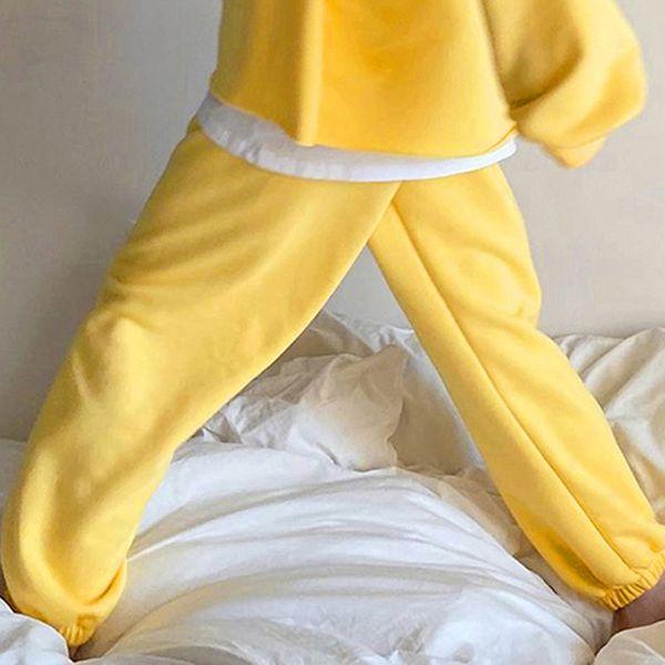 8068 pantalons jaunes