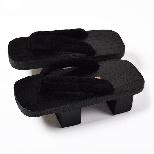 Pure Black (black Wood with Two Teeth)