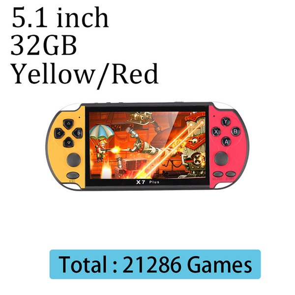 YELLOW / RED 32GB