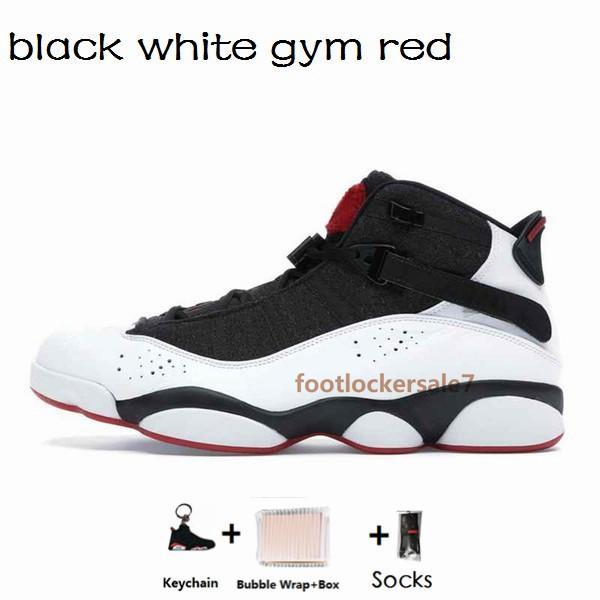 6s-40-47 ginásio branco preto vermelho